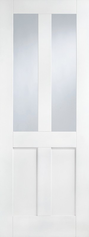 "LPD - Internal Door - White London Glazed 2L 1981 x 686 (27"")  WFLONG27"