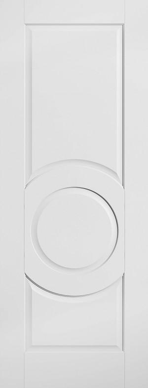 """LPD - Internal Door - White Montpellier 1981 x 686 (27"""")  WFMON27"""