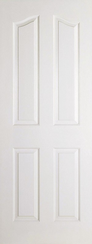 LPD - Internal Door - White Moulded Mayfair 4P 2040 x 726 mm  MAY4P726