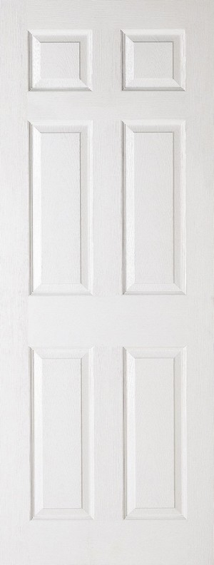"LPD - Fire Door - White Moulded Textured 6P 1981 x 610 (24"")  FCTEX6P24"