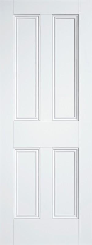 """LPD - Internal Door - White Nostalgia 4P 1981 x 610 (24"""")  WFNOS4P24"""