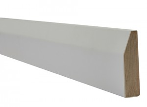 LPD - Internal Door - White Primed Architrave Chamfered 2200 x 70 mm  WFCHARC1870