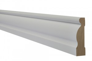 LPD - Internal Door - White Primed Architrave Ogee 2200 x 70 mm  WFOGARC1870