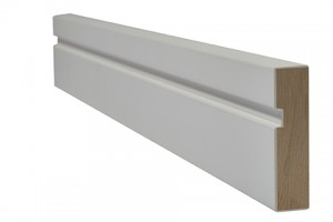LPD - Internal Door - White Primed Architrave Single Groove 2200 x 70 mm  WFSGARC1870