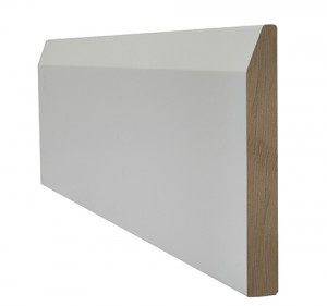 LPD - Internal Door - White Primed Skirting Chamfered 3000 x 95 mm  WFCHSKI1895
