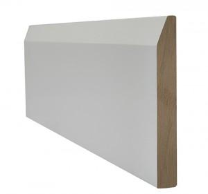LPD - Internal Door - White Primed Skirting Chamfered 3000 x 146 mm  WFCHSKI18146