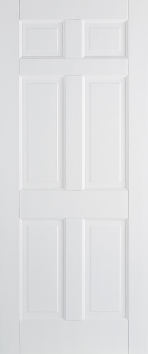 "LPD - Internal Door - White Regency 6P 1981 x 610 (24"")  WFREG6P24"