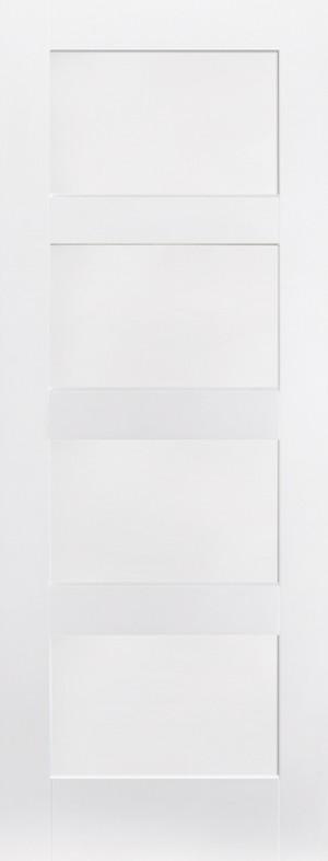 """LPD - Internal Door - White Shaker 4P 1981 x 610 (24"""")  WFSHAKER4P24"""