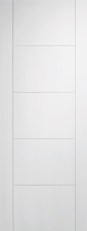 LPD - Fire Door - White Vancouver 5P 2040 x 926 mm  WFVANFC926
