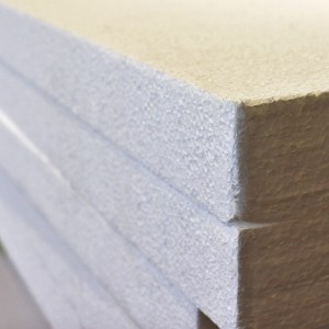 WHITE Polystyrene Insulation -75mm x1200 x2400mm  MFISPSF