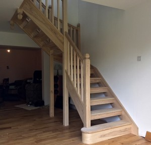 Pear Stairs - Woking Ash Staircase (701)