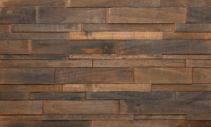 Imperial Brick Feature Wall Wood Panels - Antique Charcoal