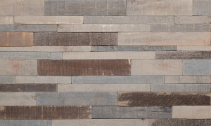 Imperial Brick Feature Wall Wood Panels - Antique Grey