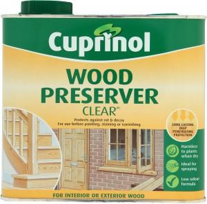 Cuprinol Wood Preserver Clear