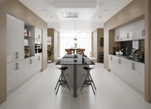Symphony Milano Contemporary Kitchen - Woodbury