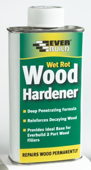 SikaEverbuild Wet Rot Wood Hardener 250ml [EVBWOODHARD2]