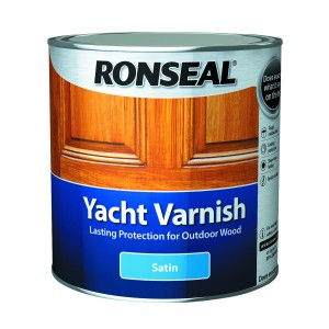 Ronseal Yacht Varnish Satin