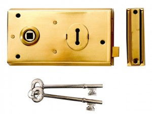 P401 Rim Lock 138 x 76mm