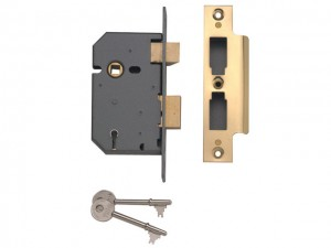 5 Level Mortice Sashlocks - PM550  YALPM550PB25