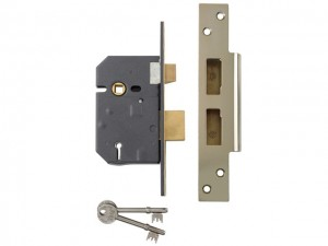 Hi-Security 5 Lever Mortice Sashlock  YALPM560PB25