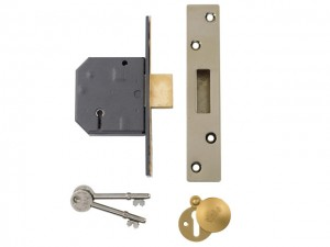 Hi-Security BS 5 Lever Mortice Deadlock