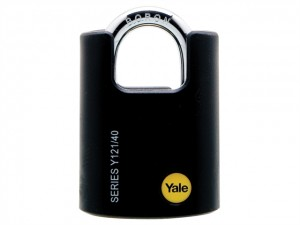 Y121 Brass Padlock Closed Shackle