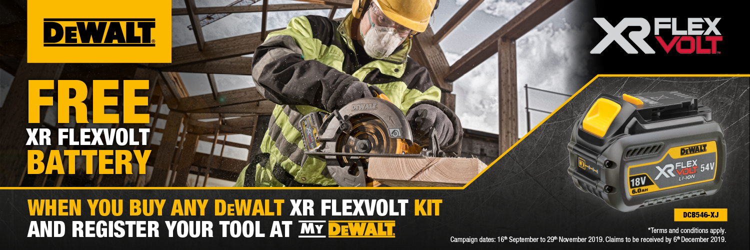 dewalt redemption campaign, free dewalt battery, boys and boden dewalt