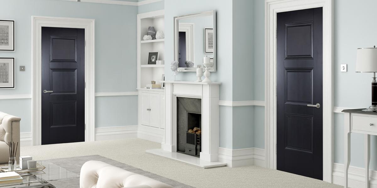 coloured doors, amsterdam doors, lpd doors, colour collection, interior and exterior, doors