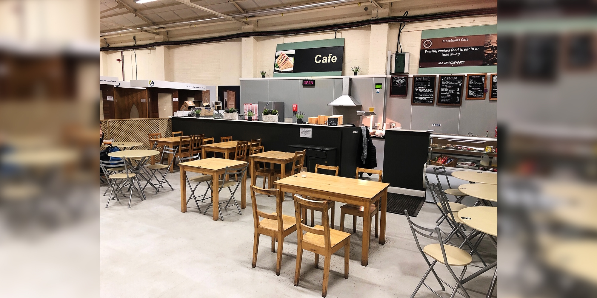 cafe chester, food broughton, builders merchant cafe, merchants cafe, food a55