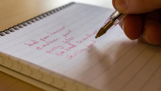 methodical DIY, DIY lists, how to, prepare