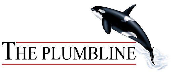 plumbline logo, the plumbline