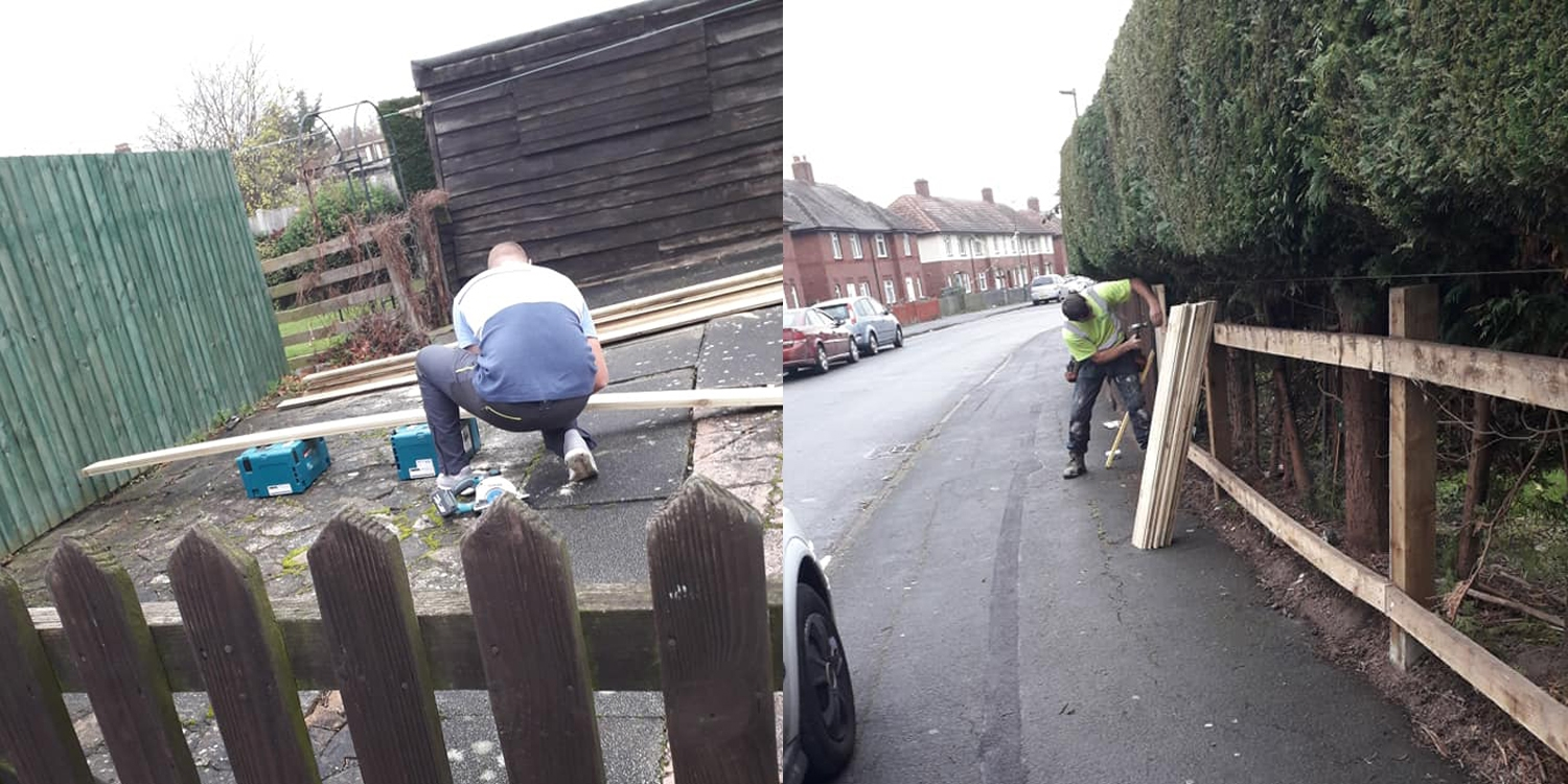 fence installation, boys and boden fence, theft
