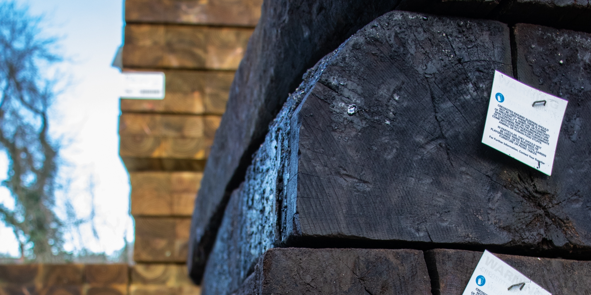reclaimed sleeper, railway sleeper, timber sleeper