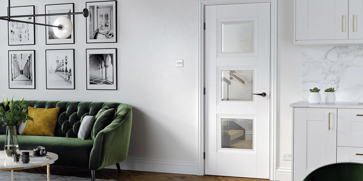 white doors, glazed doors, wooden doors, lpd doors