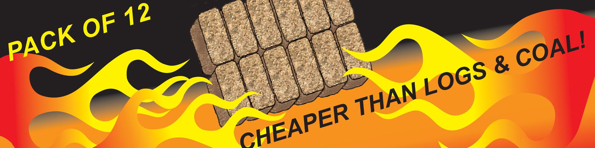 wood briquette, wood burner fuel, eco friendly fuel, log burner fuel, chester fuel