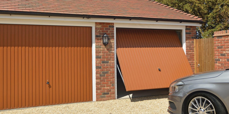 up and over garage door by garador