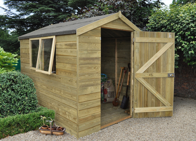 gardening and sheds