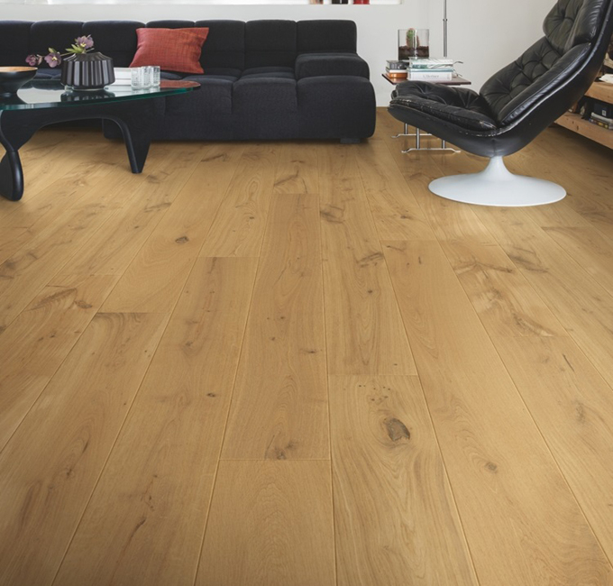 vinyl and wood flooring